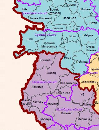 Opština Šabac - Broj stanovnika
